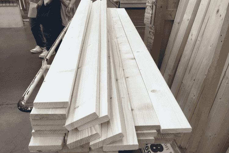 木材を購入
